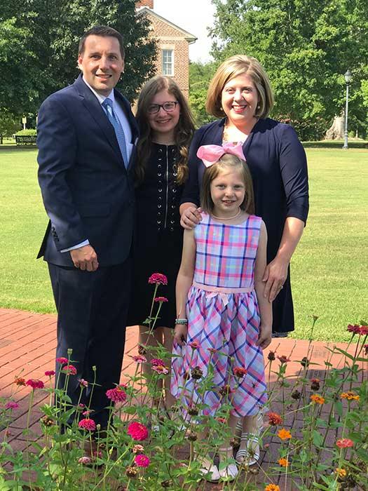 Pastor Jon Alverson and Family