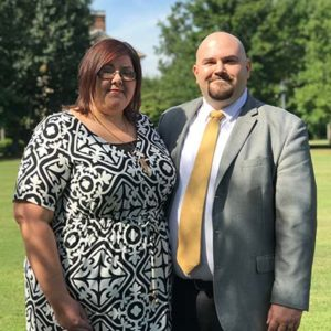 Daniel and Jennifer Haney, Directors of S.T.A.N.D. Youth Ministry