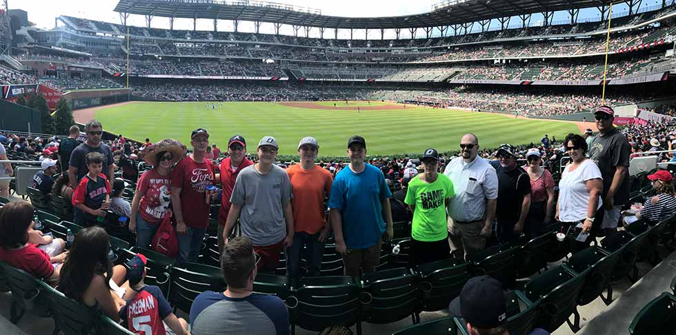 S.T.A.N.D. Youth Ministry - At the Braves Game